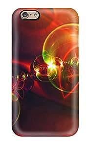 DavidMBernard XfzKDAG92Bppib Protective Case For Iphone 6(glowing Bubbles) by icecream design