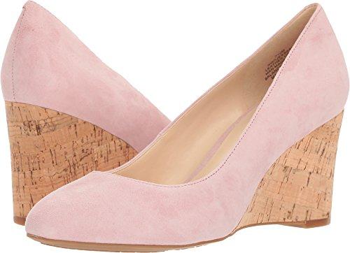 Nine West Women's Jessa9X Light Pink Suede 7 M (Light Pink Leather Footwear)