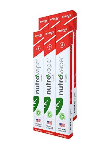 NutroVape Inhalable Energy Aid   Works Fast - Caffeine -   Energy Drink Alternative (6)