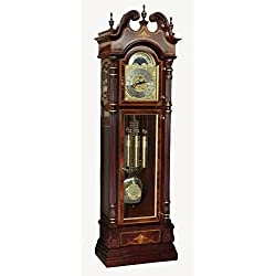 Charles R Sligh Grandfather Clock Model 233 Limited Edition #349 of 1000