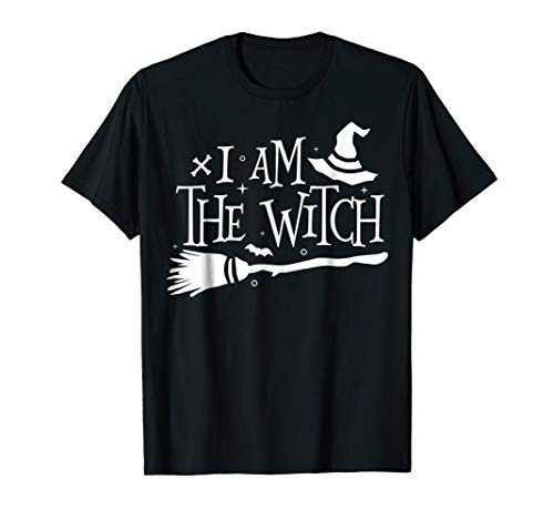 I Am The Witch Funny Halloween Couples Costume -