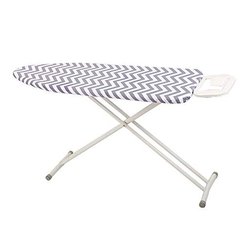 Hersent Ironing Board Cover, Large Smartfit Elastic Iron Board Cover Fits Boards Up to 150cm, Scorch Resistant 2mm Thicken Foam Ironing Board Replacement Cover,59