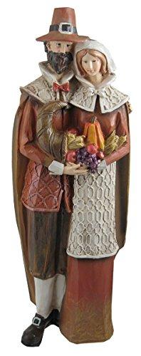 Pilgrim Thanksgiving - Pilgrim Couple 14 x 5 Inch