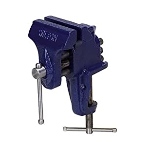 """Wilton 33150  150, Bench Vise - Clamp-On Base, 3 Jaw Width, 2-1/2"""" Maximum Jaw Opening"""