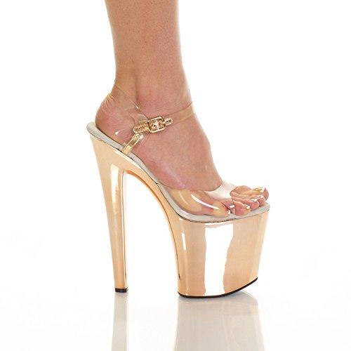 The Highest Heel Woman's FANTASY-51-ELC/BLSM/6 7 1/2