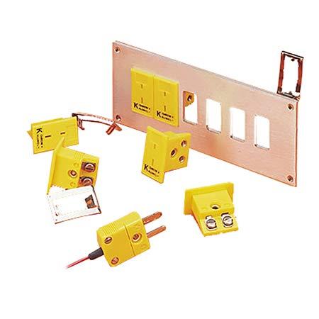 Omega MPJ-K-F Miniature Thermocouple Panel-Mount Socket Connector