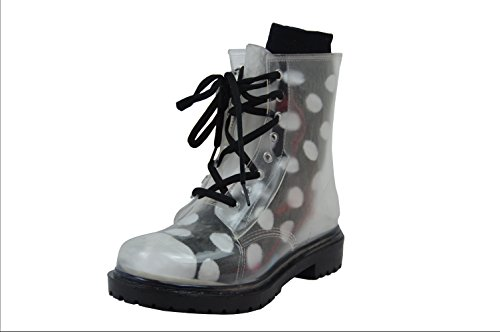 Bundle Sole Jolly Boots Boots London 5 Sock Transparent and 38 Jelly Black XUqw6w