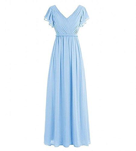 Beauty Para Vestido Ka Mujer Azul 87qn4dw0