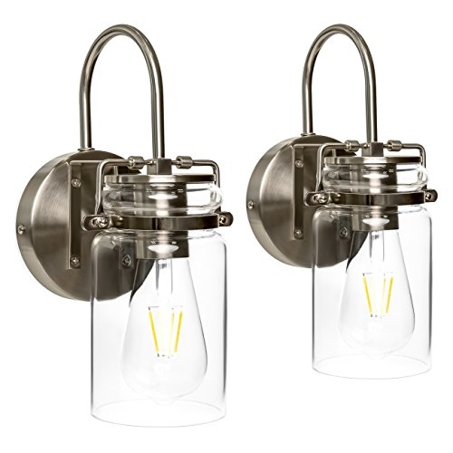 Buy wall light sconces set of two
