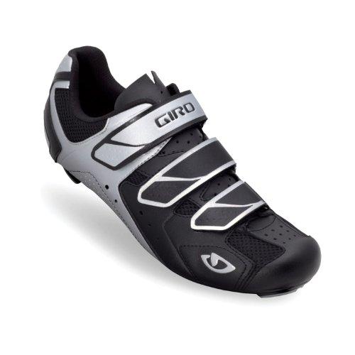 Giro 2013 Mens Treble Road Bike Shoes (Black/Silver - 40.5)