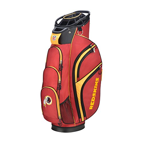 (Wilson 2018 NFL Golf Cart Bag, Washington Redskins)