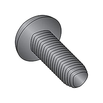 Zinc Plated 1//4 Length Steel Thread Rolling Screw for Plastic #6-19 Thread Size Phillips Drive Pack of 100 Pan Head