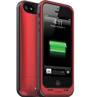 Mophie Juice Pack Air Case and Rechargable Battery Compatible with Verizon and AT&T iPhone 4