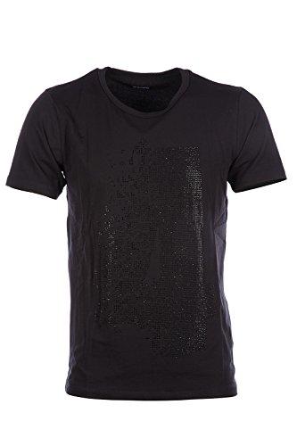 dirk-bikkembergs-mens-short-sleeve-t-shirt-crew-neckline-jumper-micro-studs-black-us-size-xl-us-42-c