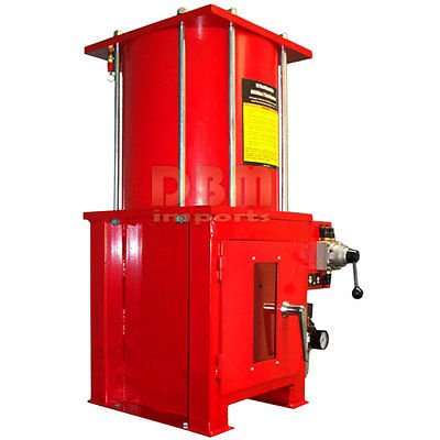 Air Hydraulic 10 Ton Oil Filter Can Crusher Crush Smash With Floor Stand