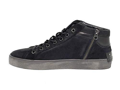 Nero Uomo London Crime11222n Crime Camoscio Sneakers xvZYZqwC