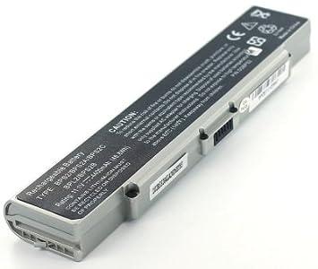 Batería batería para batería de repuesto para ordenador portátil Sony VAIO VGN-FE28H: Amazon.es: Electrónica