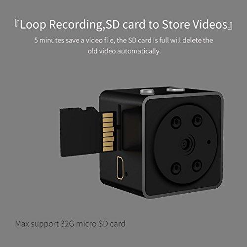 Hidden Cameras Aobo 1080p Mini Spy Wireless Body Portable