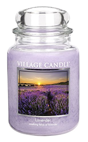 Village Candle Lavender Glass Scented product image