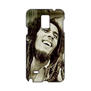Angl 3D Case Cover Bob Marley Phone Samsung Galaxy S5 I9600/G9006/G9008