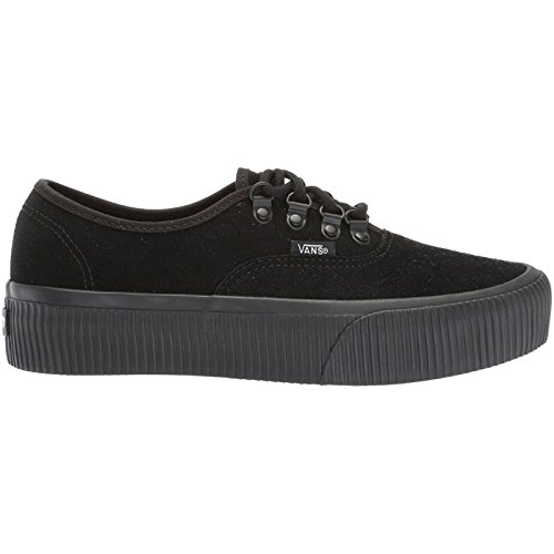 0 Vans Embossed Unisex Authentic Platform Black Black 2 wwIfqF