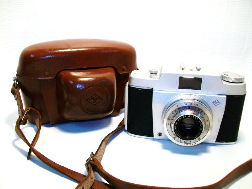AGFA Silette 35mm Camera with Original Case