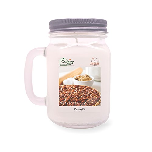 Country Jar Pecan Pie Soy Candle (14.5 oz. Mason Jar) Spring Pick-3 Sale! See Details. ()