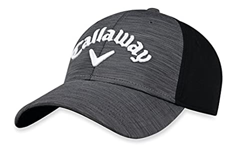 Amazon Com Callaway Golf 2018 Heather Adjustable Hat Charcoal