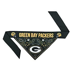 NFL Green Bay Packers Pet Bandanna, Small