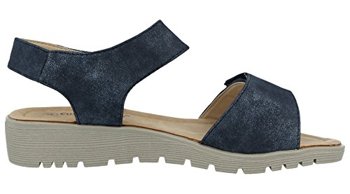 Cushion Mujer Walk Material Azul Sandalias De Sintético fwHOqB4