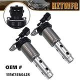 HZTWFC 2PCS New VVT Variable Timing Solenoid 11367585425 Compatible for BMW 128i 135i 323i 328i 335i 528i 530i 535i 335xi 525xi X3 X5 X6 Z4