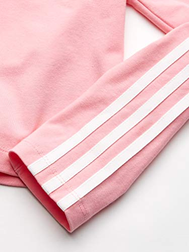 1451576ef adidas Originals Girls' Big 3-Stripes Crop Long Sleeve Tee | Weshop ...