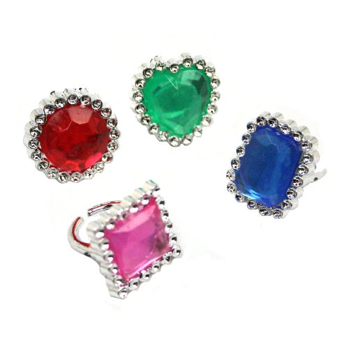 Jewel Rings by U.S. Toy