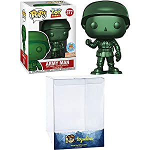 Army Man (Box Lunch Exc): Funk o Pop! Vinyl Figure Bundle with 1 Compatible 'ToysDiva' Graphic Protector (377 – 33570 – B)
