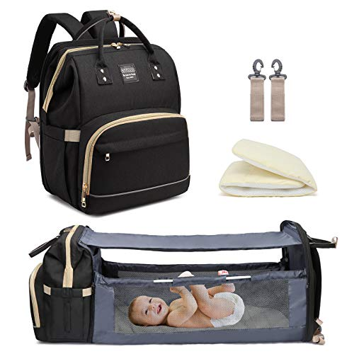 Petrol Blue L/ässig Baby Nappy Changing Backpack Diaper Bag with Accessories//Green Label Backpack Adventure