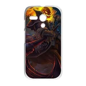 Motorola G Cell Phone Case White League of Legends Headless Hecarim OIW0429122