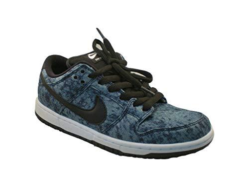 (Nike Men's Dunk Low Premium Sb Midnight Navy/Black/White Skate Shoe 7.5 )