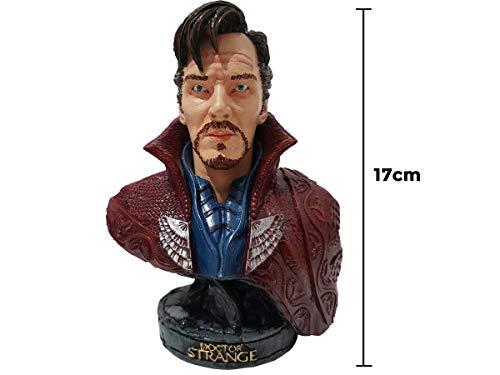 Doutor Estranho Busto Estátua 17cm