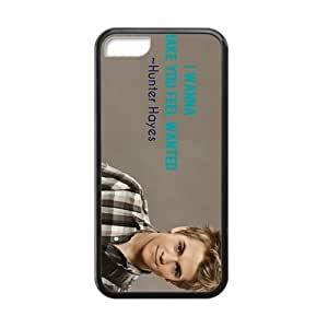 Custom Hunter Hayes New Laser Technology Back Cover Case for iPhone 5C CLP412