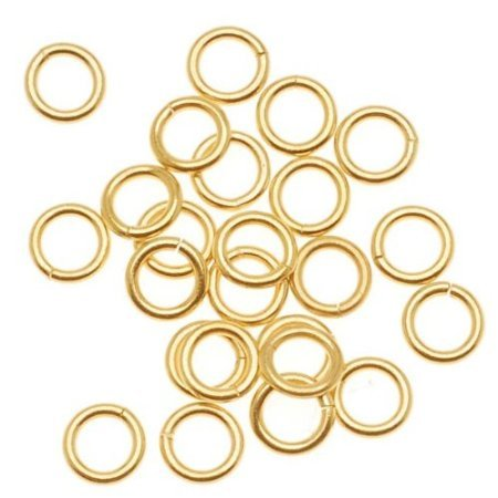 - UnCommon Artistry 14K Gold Filled Open Jump Rings 4mm 21 Gauge (25)