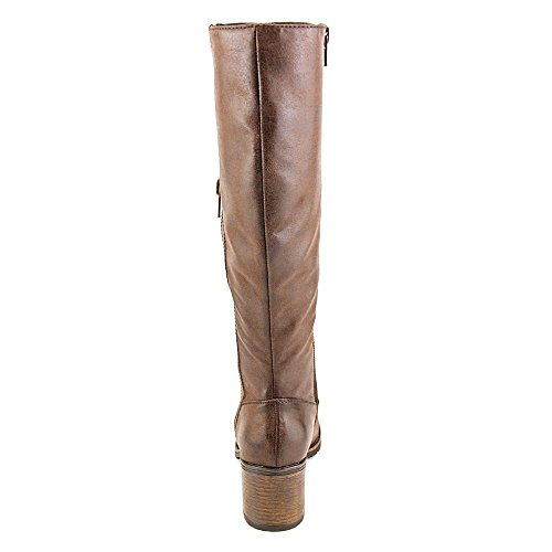 Baretraps Dallia Women Us 9.5 Marrone Gambaletto Alto