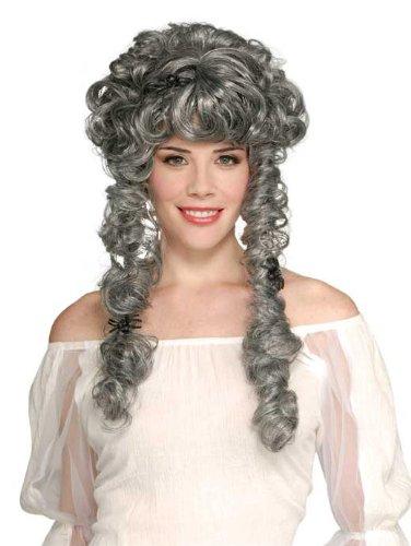 Rubie's Ghost Bride Wig, Greyest White, One Size -