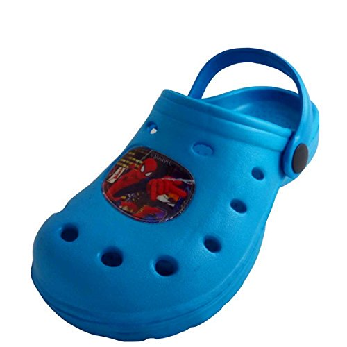 Spiderman - Zapatillas de estar por casa de Material Sintético para niño azul azul turquesa