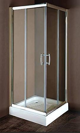 Mampara de ducha 70 x 70 cm x 180 h: Amazon.es: Hogar