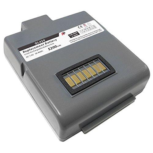 Artisan Power Zebra/Comtec QL420 Printer: Replacement Battery. 5200 mAh (Zebra Ql420 Battery)