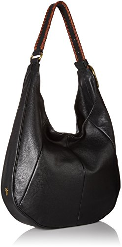 Whipstitch Shoulder FRYE Bag Hobo Black Jacqui p7ROwqz