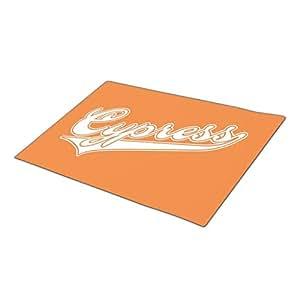 SamMask Orange Cypress High School Go Away Doormat