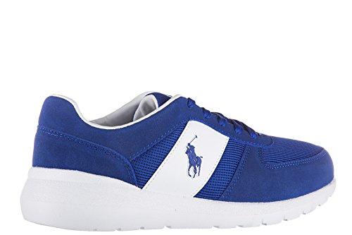uomo camoscio Ralph Polo nuove scarpe Blu blu sneakers Lauren cordell pOIwqSO