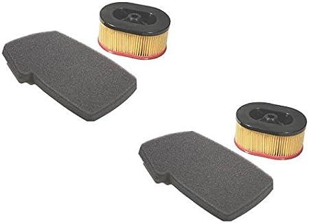 Amazon.com: (2) nuevo conjunto de filtro de aire/Kit Partner ...