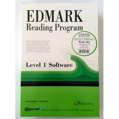 Edmark Reading Program Software Level 1 Home Edition (Complete package)